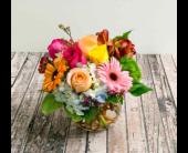 Houston Flowers - Garden Bubble Arrangement - The Empty Vase of Houston