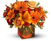 Teleflora's Sunrise Sunset - Deluxe in Charleston SC, Bird's Nest Florist & Gifts