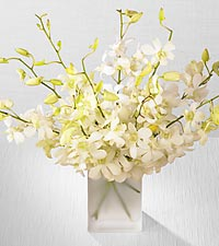 Pearl Orchids Bouquet in San Marcos CA, Angel's Flowers