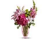 Teleflora's Pink n' Playful in Maple ON, Jennifer's Flowers & Gifts