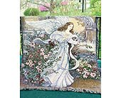 ANGEL OF LOVE AFGHAN<BR>(Local Delivery Only) in Circleville&nbsp;OH, Wagner's Flowers