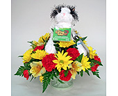 Black & White Caring Valley Cat in Indianapolis IN, Gillespie Florists