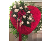 Standing Heart with Break in Staten Island, New York, Kitty's and Family Florist Inc.