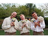 Aarons Wedding in Largo FL, Rose Garden Flowers & Gifts, Inc