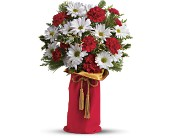 Teleflora's Holiday Wishes Bouquet in Eldora IA, Eldora Flowers and Gifts