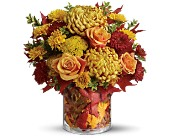 Teleflora's Golden Leaves in San Clemente CA, Beach City Florist