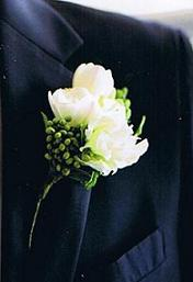 White Rose and Ranunculus in Cerritos CA, The White Lotus Florist