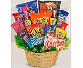 Sweets in Bloom® Snack Attack Basket in Laurel MD, Rainbow Florist & Delectables, Inc.
