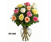 Garden Rose Bouquet in Fairfield CT, Glen Terrace Flowers and Gifts