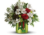 Teleflora's Jolly Jingle in Staten Island NY, Eltingville Florist Inc.