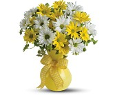 Teleflora's Upsy Daisy in Golden CO, Fleur-De-Lis Flowers