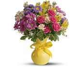 Teleflora's Color It Happy in Nationwide MI, Wesley Berry Florist, Inc.