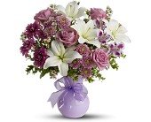 Teleflora's Precious in Purple - Deluxe