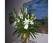 Hernandez Gallery in Lawrence, Kansas, Owens Flower Shop Inc.