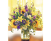 Field of Flowers in Vase in New York NY, CitiFloral Inc.