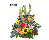 Garden basket in Fairfield CT, Town and Country Florist