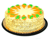 Flavorful Premium Carrot Cake by Bakery Delights in Baltimore MD, Raimondi's Flowers & Fruit Baskets