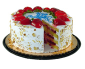 Four Layer Strawberry Shortcake by Bakery Delights in Baltimore MD, Raimondi's Flowers & Fruit Baskets