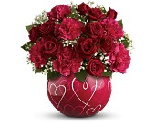 Teleflora's Heart of Hearts Bouquet