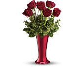 Teleflora's Red Hot Half-Dozen in Batavia, Illinois, Batavia Floral in Bloom, Inc