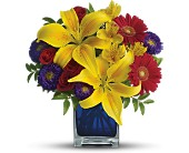 Teleflora's Blue Caribbean in Largo FL, Rose Garden Flowers & Gifts, Inc