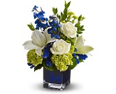 Teleflora's Serenade in Blue in Methuen MA, Martins Flowers & Gifts