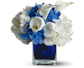 Teleflora's Waves of Blue in Natick MA, Posies of Wellesley