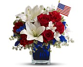 America the Beautiful by Teleflora in Wichita KS, Tillie's Flower Shop