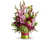 Glad All Over by Teleflora in Jamesburg NJ, Sweet William & Thyme