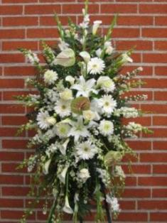 White Elegance Tribute by Jaimee in Inglewood, California, Inglewood Park Flower Shop