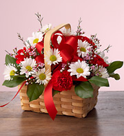 LOTSA LOVE BASKET in Homer NY, Arnold's Florist & Greenhouses & Gifts