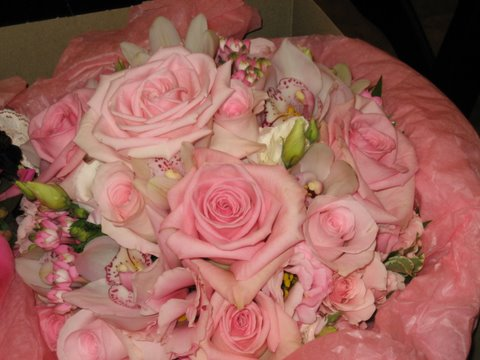 Pink Bouquet in Hilliard, Ohio, Hilliard Floral Design