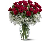 Double Thanks <BR><B><I>Premium Roses</B></I> in Ypsilanti&nbsp;MI, Norton's Flowers & Gifts
