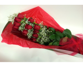 Dozen Red Roses Boxed
