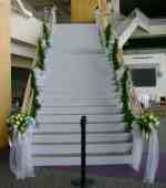 Staircase decoration in Covington, Kentucky, Jackson Florist, Inc.