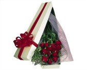 Oak Brook Flowers - Boxed Roses - Jim's Florist