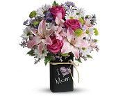 Palm Harbor Flowers - Teleflora's Chalk It Up Bouquet - Deluxe - Holiday Florist