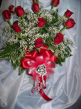 bulldog pride roses in Crown Point IN, Debbie's Designs