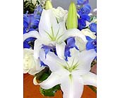 Bridesmaids Blue in Pasadena, Maryland, Maher's Florist