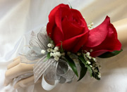 RED ROSE CORSAGE in Ossining NY, Rubrums Florist Ltd.