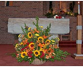Altar Basket in Niles, Ohio, Connelly's Flowers