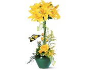 Lily Topiary in Nationwide MI, Wesley Berry Florist, Inc.
