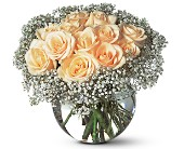 A Dozen White Roses in Lake Worth FL, Lake Worth Villager Florist