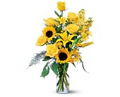 Blazing Sunshine in Orange CA, LaBelle Orange Blossom Florist
