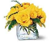 Yellow Rose Bravo! in Forest Hills NY, Danas Flower Shop