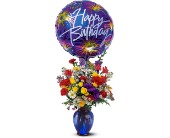 Birthday Fireworks in San Clemente CA, Beach City Florist