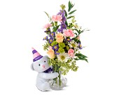 Teleflora's Party Bear in Traverse City MI, Cherryland Floral & Gifts, Inc.