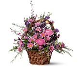 Basket of Blossoms in Saratoga Springs NY, Dehn's Flowers & Greenhouses, Inc