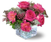 Perfect Pink Harmony in Metairie LA, Golden Touch Florist