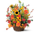 Majestic Fall in Mount Morris MI, June's Floral Company & Fruit Bouquets
